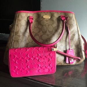 Coach Bag and Wallet